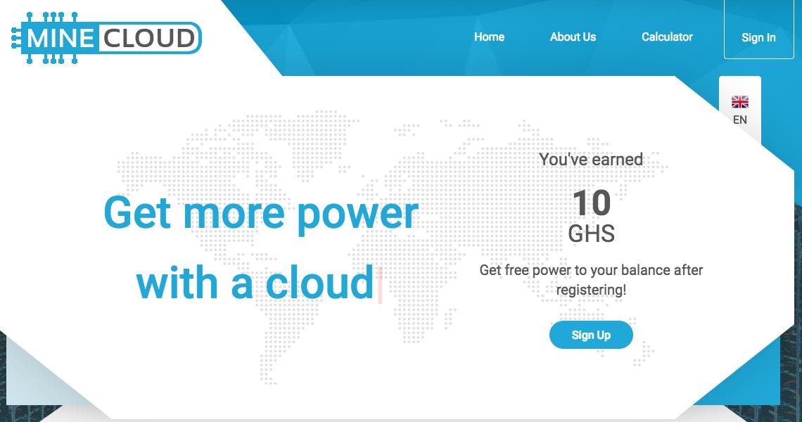 Free ethereum cloud mining sites